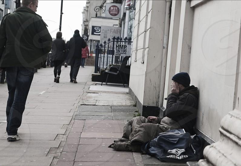 Homeless plead for help ignorance  photo