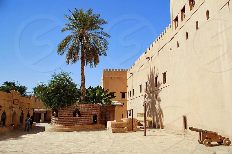 Oman - Nizwa - Fort photo