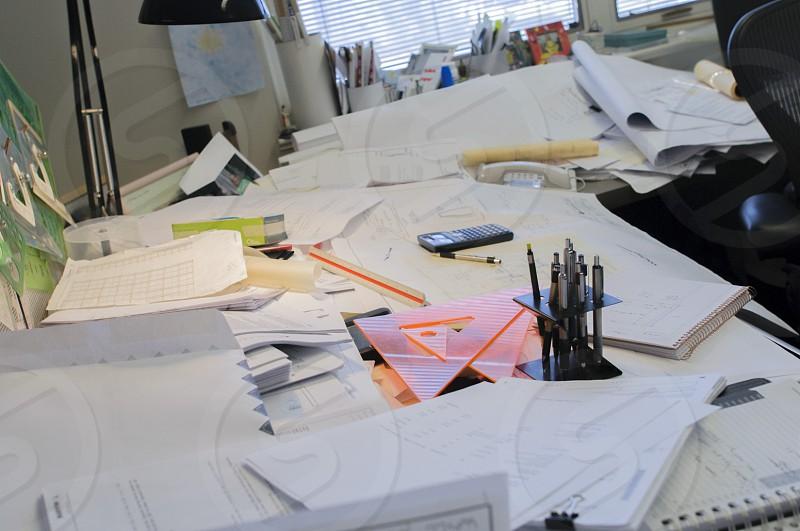 Architect at work photo