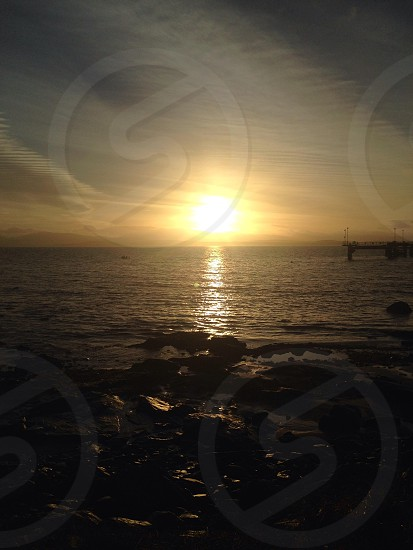 Sunrise on islay no better sight to wake up to photo