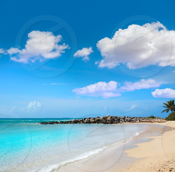 Key West beach Fort Zachary Taylor Park in Florida USA photo