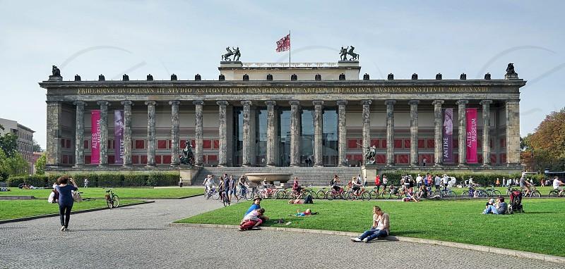 Altes Museum in Berlin photo