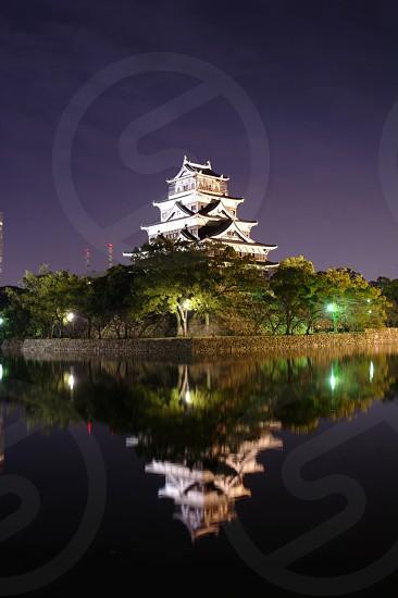 Hiroshima castle photo
