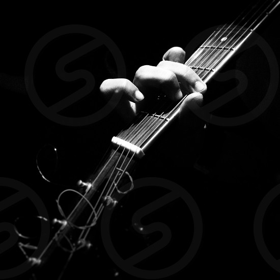 Musician guitarist photo