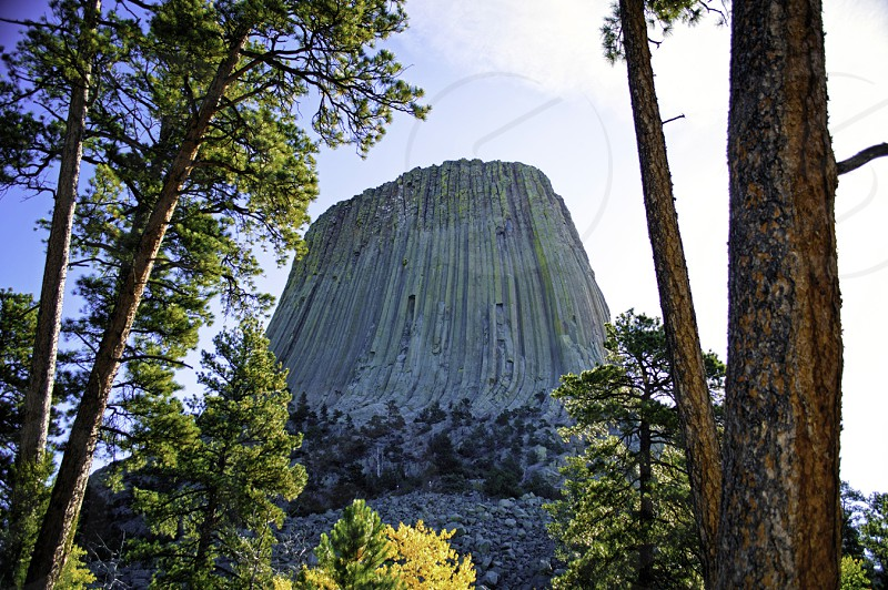 Devil's Tower WY photo