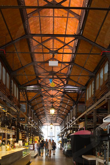 Market of San Miguel in Madrid Spain photo