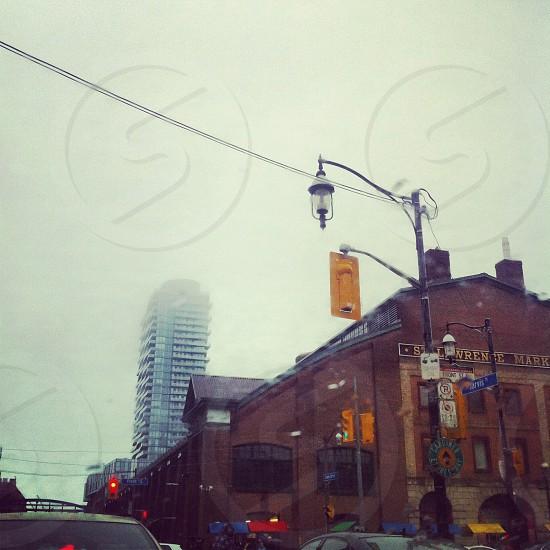 #Toronto's historic St. Lawrence Market on a rainy spring day (2014) photo