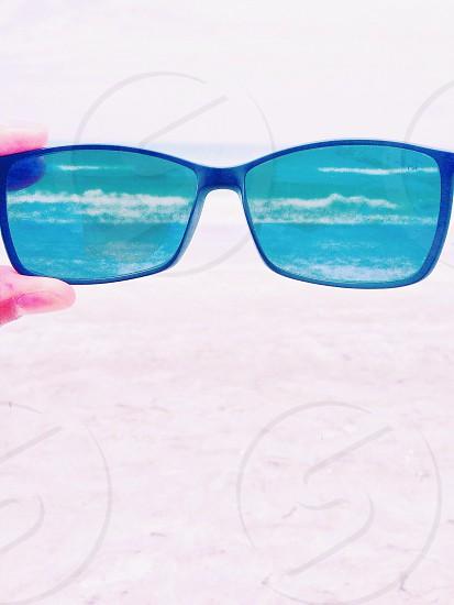 beach lens. photo