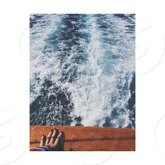 Ocean boat photo