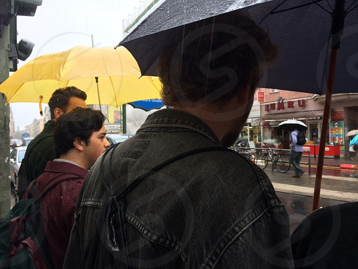 Berlin rain  photo
