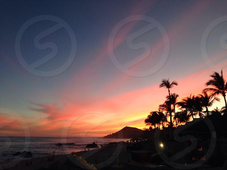 Cabo sunset photo
