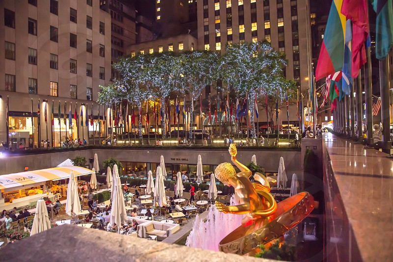 30 Rockefeller Plaza in New York New York photo