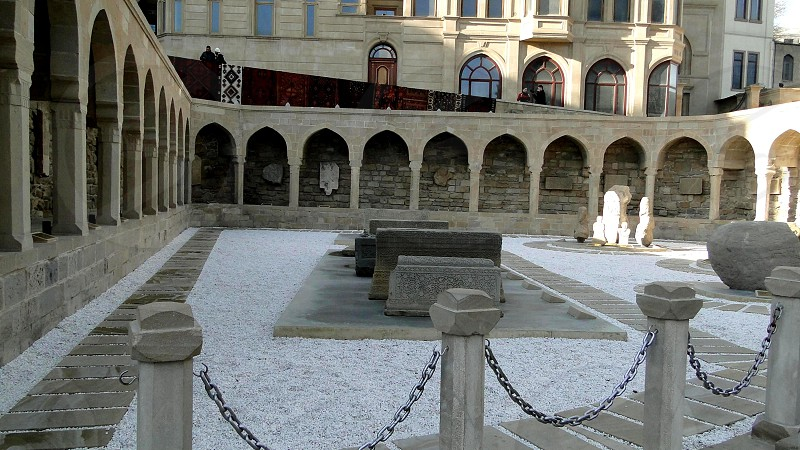 The architecture of the middle ages. Baku. Azerbaijan.   photo