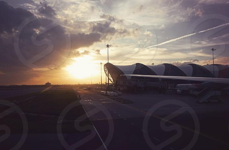 BKK at dusk. photo