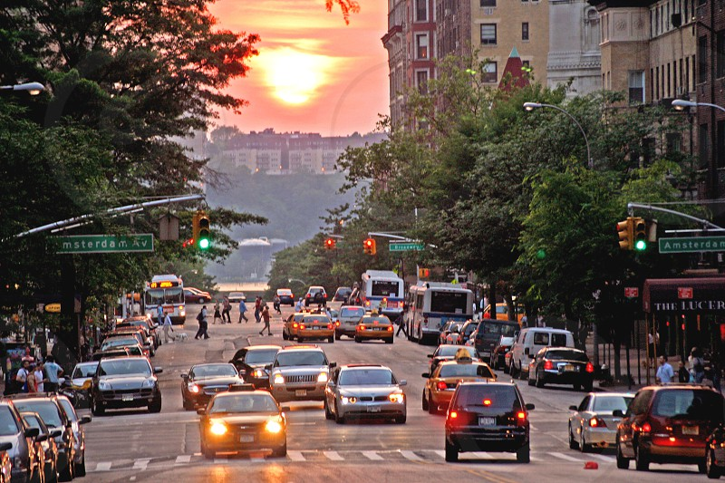W. 79th St. New York City at summer solstice. photo