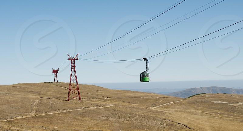 Telecabin Bucegi mountains Romania  photo