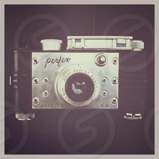 silver perfex digital camera photo