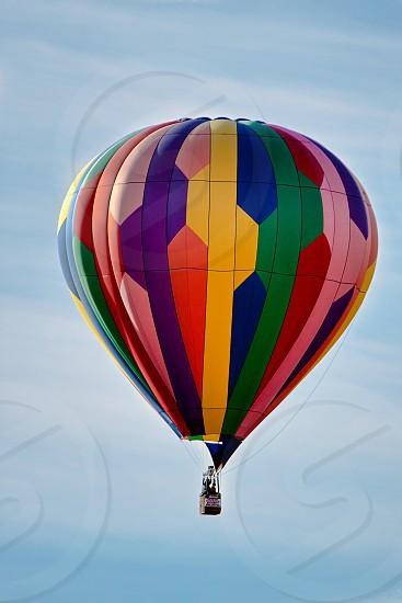 Balloon Ascending into the Sky photo
