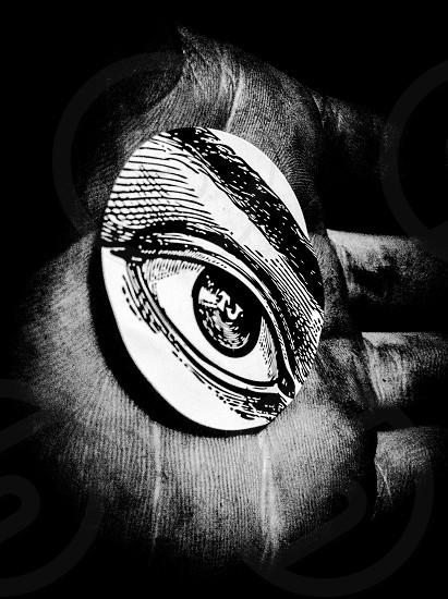 The eye photo