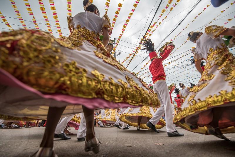 Sinulog Celebration in Cebu Philippines photo