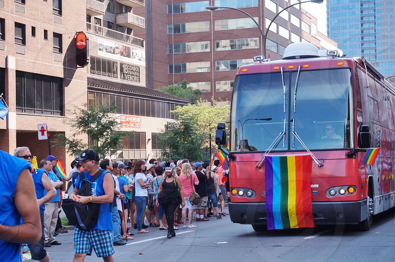 La Fierte Montreal Gay Pride Parade in August 2015 photo