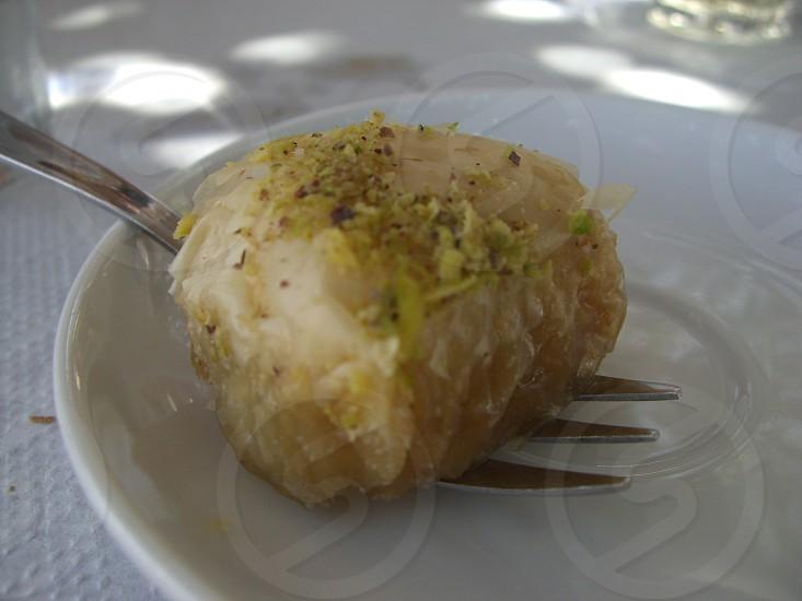 Greek baklava  photo