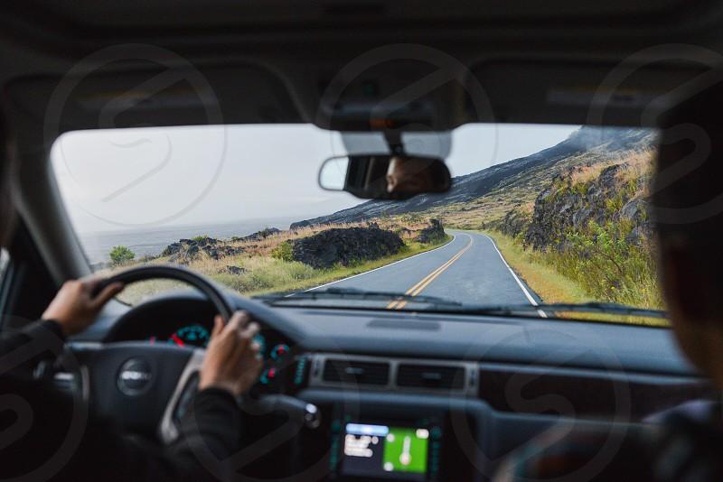 two-lane highway photo