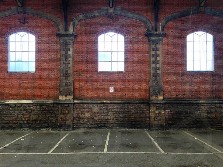 Railway car park Bristol photo
