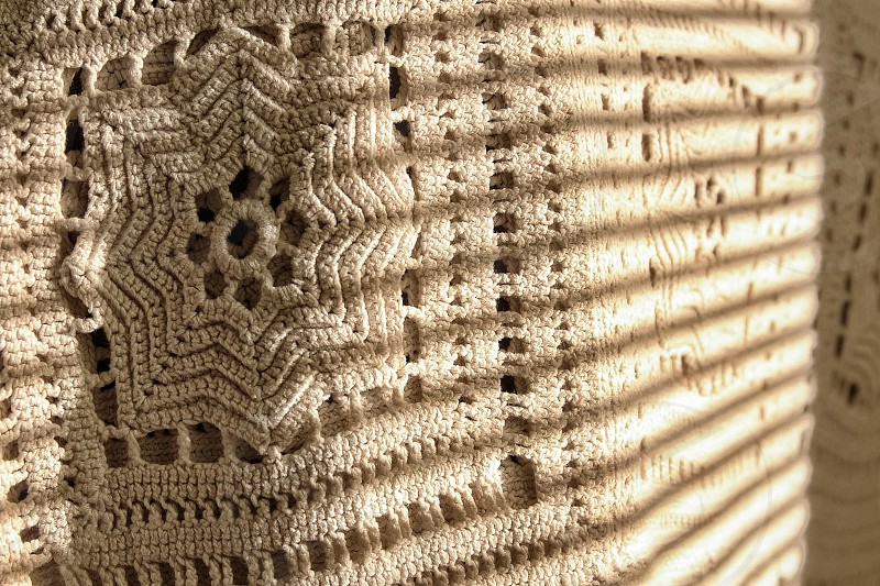 Crocheted Quilt photo