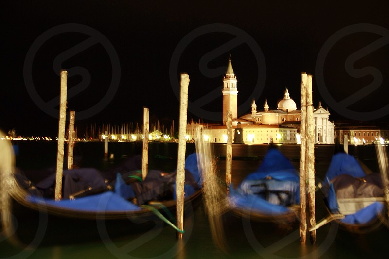Venice by night photo