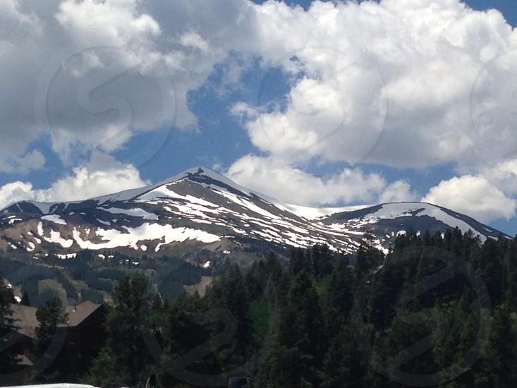 Colorado Breckinridge  beauty majestic  snow photo