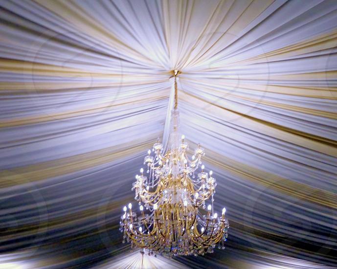 chandelier pleats fabrics photo