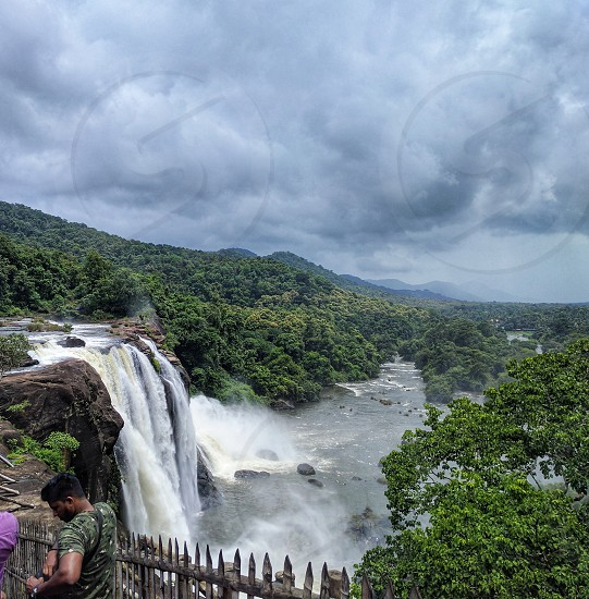 Athirapilly Falls photo