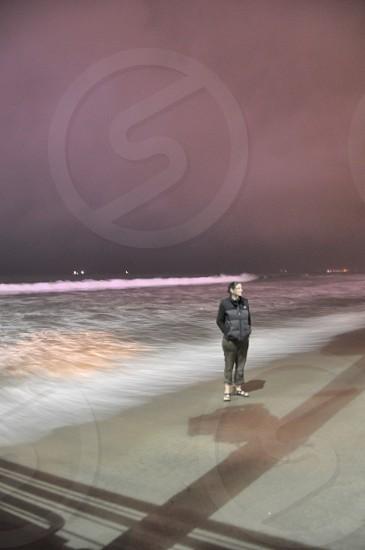 Santa Monica pier California  photo