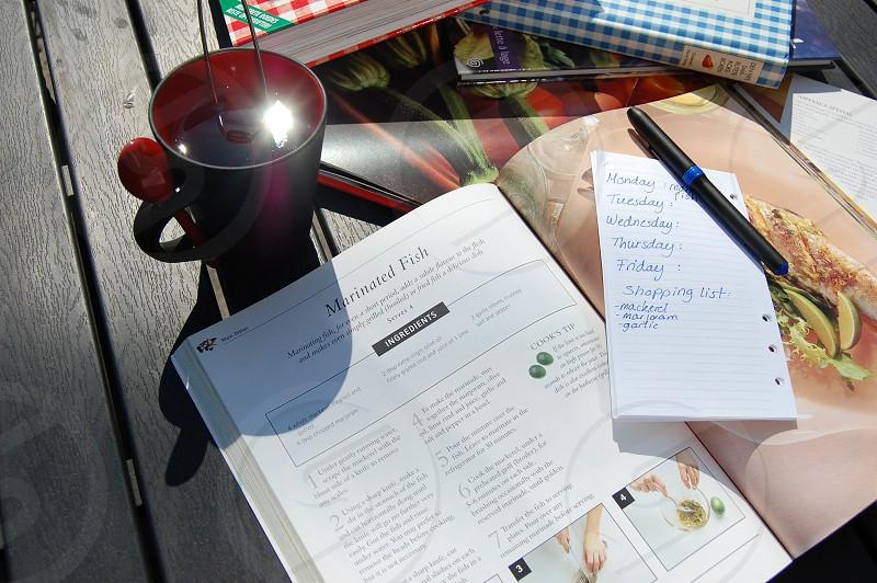recipe cooking book photo