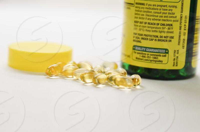 Vitamin gel for health photo