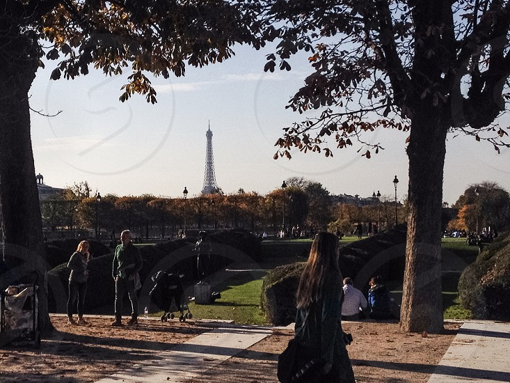 Parisians fairytale.  photo