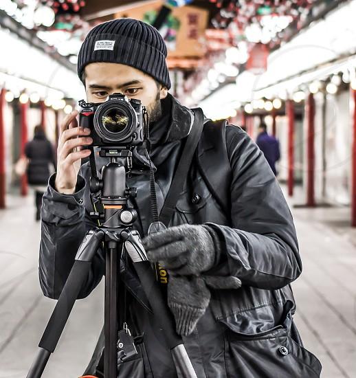 Photographer Tokyo Japan photo