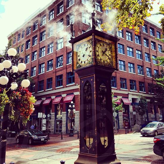 Steam Clock Vancouver BC photo