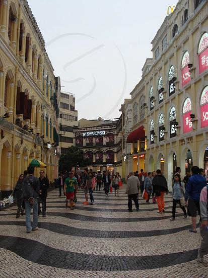Busy night in Macau photo