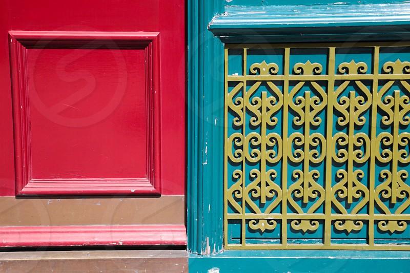 Background  wallpaper  wooden ornamentstreet view handmade man made  colorful beautiful  artistic art carpenter doors photo