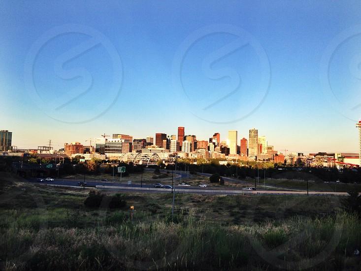 Beautiful city of Denver Colorado  photo