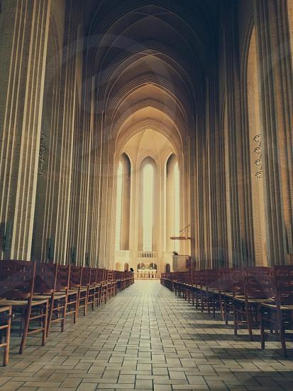 church indoor view photo