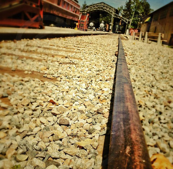 On the rails... photo