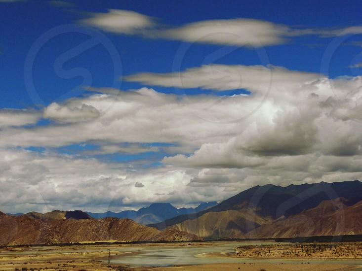 Lhasa Tibet.  photo