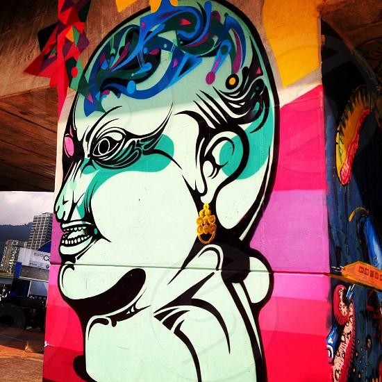 Bogotá street art (artist: Unknown) photo