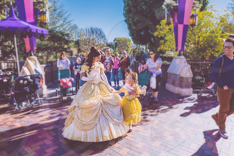 Happiest moments. A niece's first day at Disneyland. photo