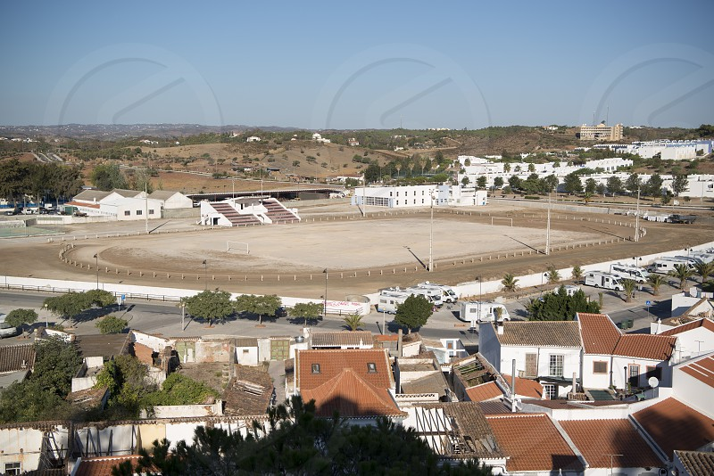 the town of Castro Marim at the east Algarve in the south of Portugal in Europe. photo