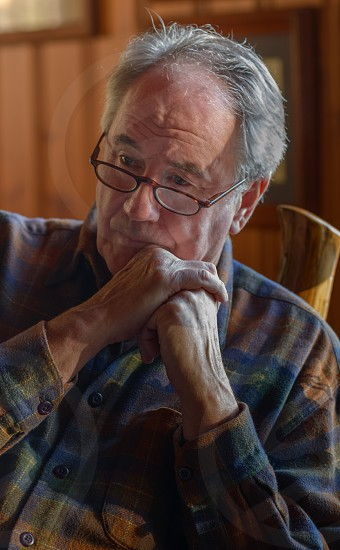 Man Contemplating His Life IV photo