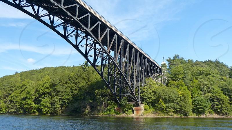 Bridge travel western Massachusetts French King Bridge  photo